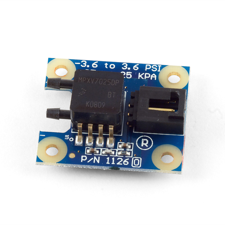Differential Gas Pressure Sensor ¡Ó 25kPa